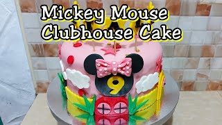 Mickey mouse clubhouse cake tutorial  LS#3