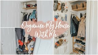 ORGANISE THE HOUSE WITH ME! AND A DATE WITH THE BOYS | VLOG ad