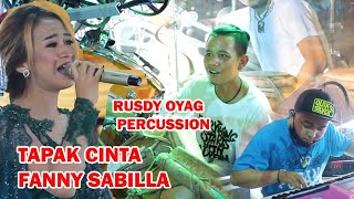 tapak cinta Fanny Sabilla ft Rusdy oyag percussion #detty kurnia