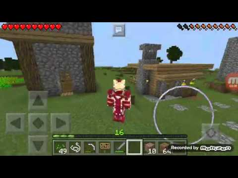 Minecraft PE Skin Capitão América Guerra Civil Homem De Ferro - Skins para minecraft pe guerra
