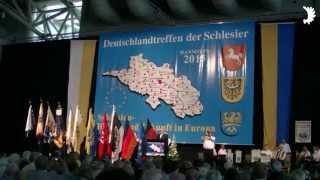 Das Deutschlandlied - Deutschlandtreffen der Schlesier, Hannover 2013