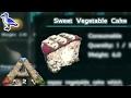HOW TO MAKE SWEET VEGETABLE CAKE IN ARK