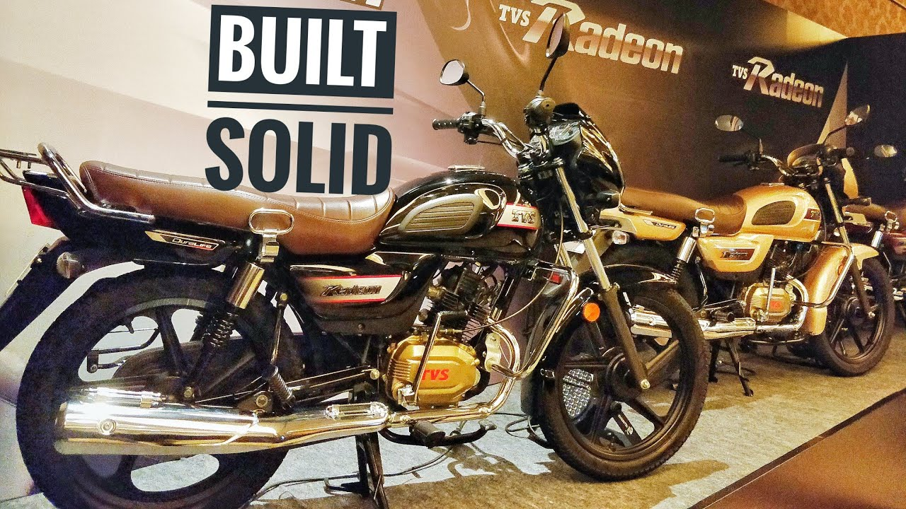 Tvs Radeon Walkaround Price Features Mileage And All You Need To