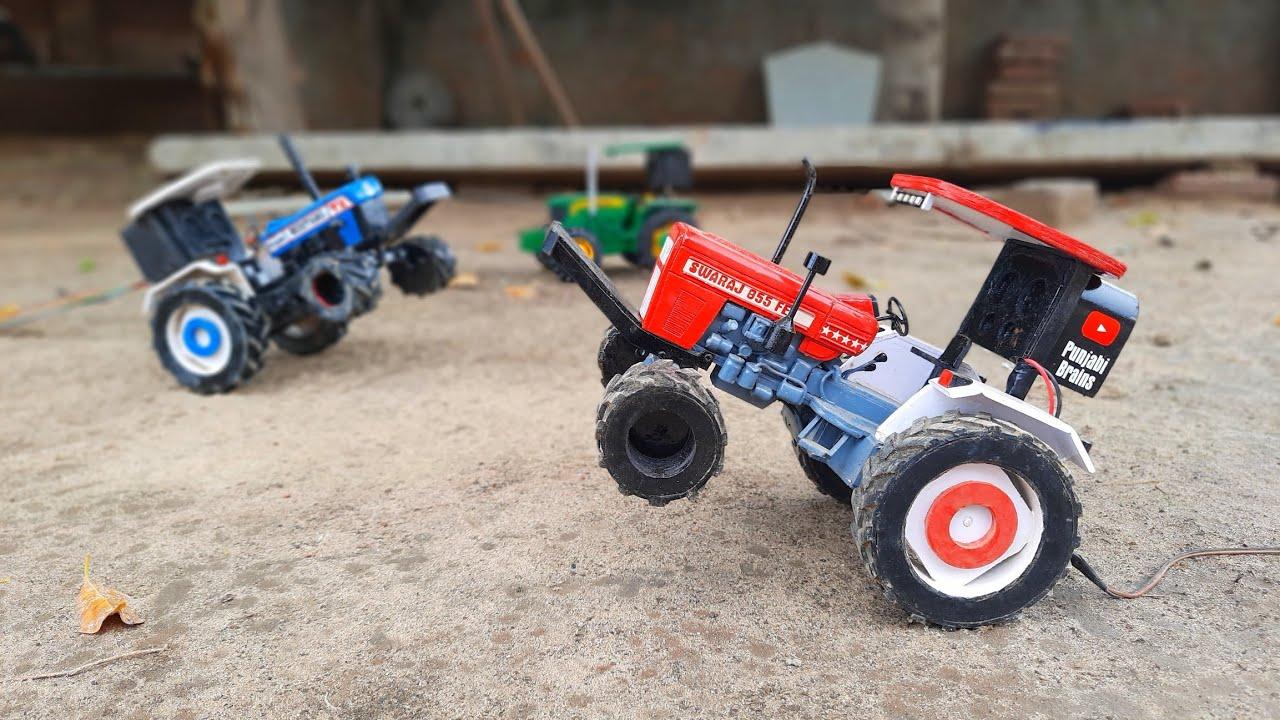 Swaraj 855 mini tractor Stunts🔥Jhaj sirra kronda💪