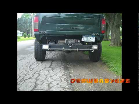 3 Hockey Puck Lift Kit On My Frontier Youtube