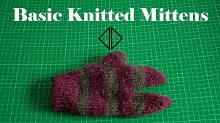 Beginners guide to knitting mittens!