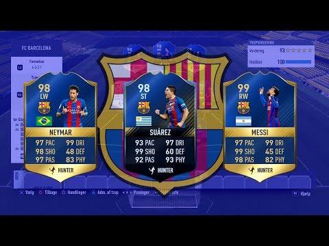 DET BEDST MULIGE FC BARCELONA HOLD I FIFA 17!