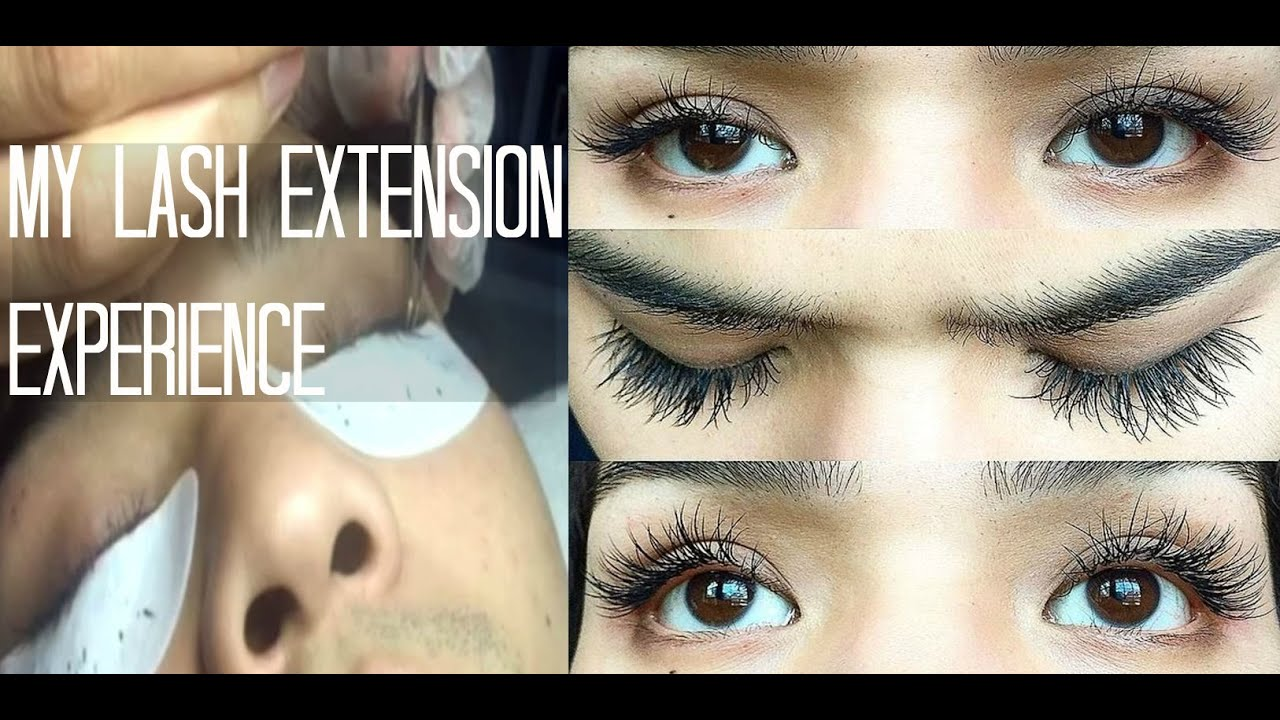 Lash Extensions My Experience Novalash Youtube