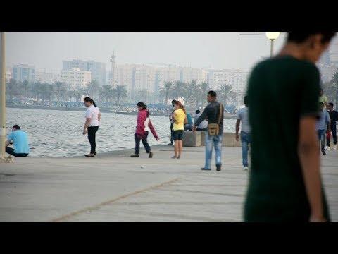 Beautiful Doha Corniche, West bay, Qatar| Oil rich Country