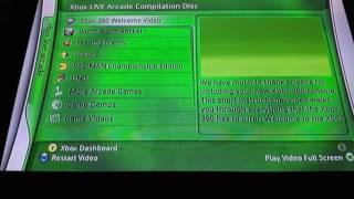 Xbox Live Arcade complication disc, in working condition