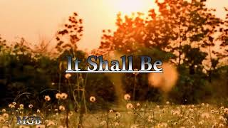 Free [For Non Profit] It Shall Be: (Urban Gospel Type Beat- 2020)