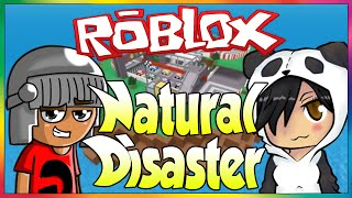ROBLOX-natural disasters. (Ft. Godenot)