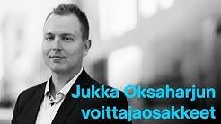 Jukka Oksaharjun Helsingin pörssin voittajaosakkeet