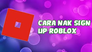 ✔Cara sign up roblox android