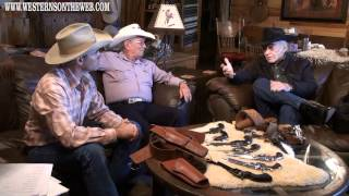 James Drury Special Colt 45 pistols made for The Virginian Western TV Series