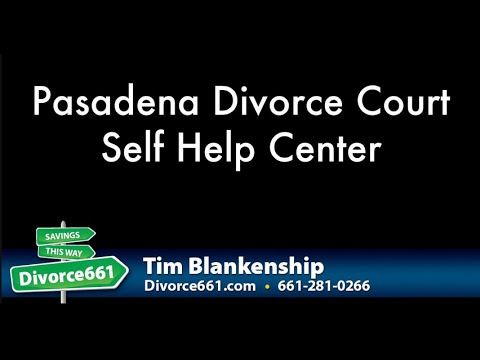 Pasadena Divorce Self Help Center | Divorce Self Help Center Pasadena California