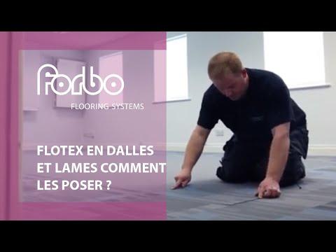 Sol Lames Et Dalles Textile Floqué Comment Les Poser Flotex En Dalles Et Lames