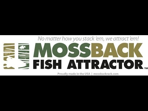 How to Assemble and Submerge Moss Backs for Crappie