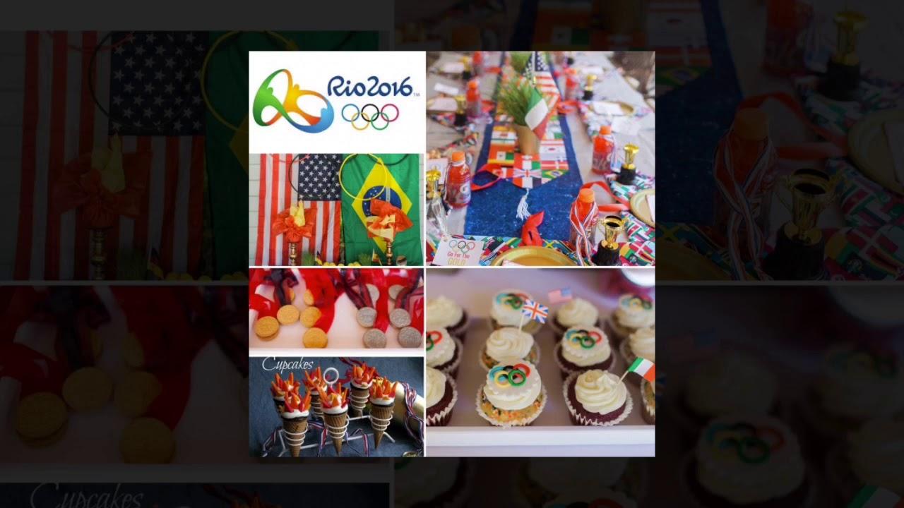Olympics Party Ideas Winter Olympics Themed Party Summer