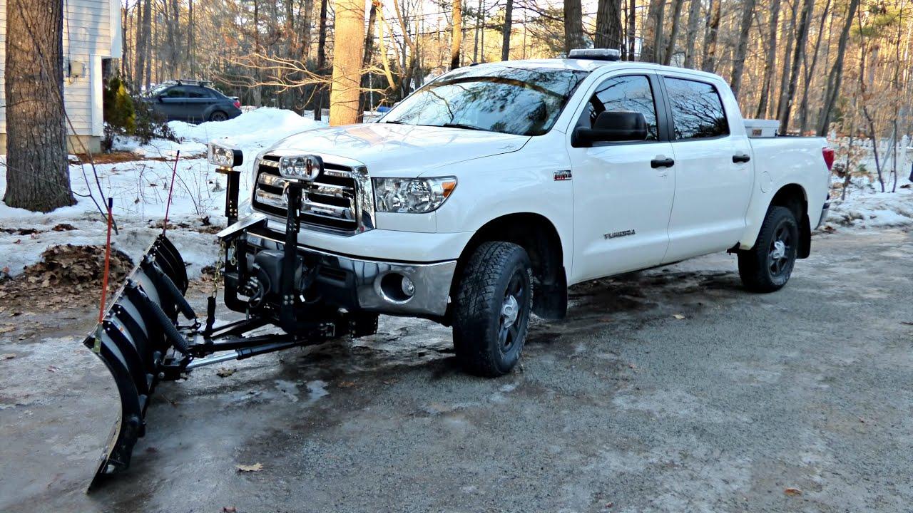 snowdogg md80 toyota tundra crewmax youtube rh youtube com 2007 toyota tundra snow plow toyota tundra snow plow reviews
