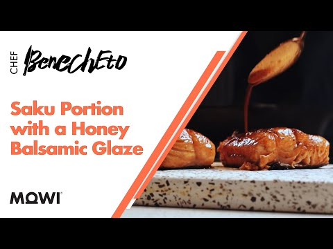 MOWI Salmon - Saku Portion with a Honey Balsamic Glaze