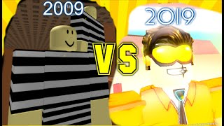ROBLOX 2009 VS 2019 #10YEARSCHALLENGE