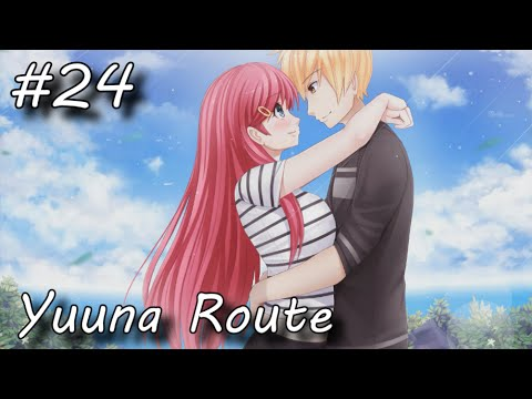 ACE Academy - 24 - BEAUTIFUL SIGHT [Yuuna Route] (Let's Play/Playthrough)