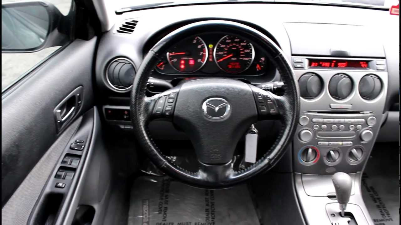 2004 Mazda 6 i, black  Stock# LN95558  Interior  YouTube