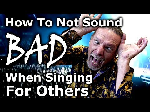 How To Not Sound Bad When Singing For Others - Ken Tamplin Vocal Academy