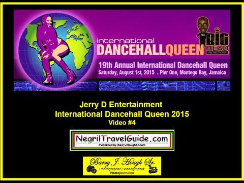 International Dancehall Queen 2015 - Jerry D Entertainment - Pier One - August 1, 2015 - Video #4