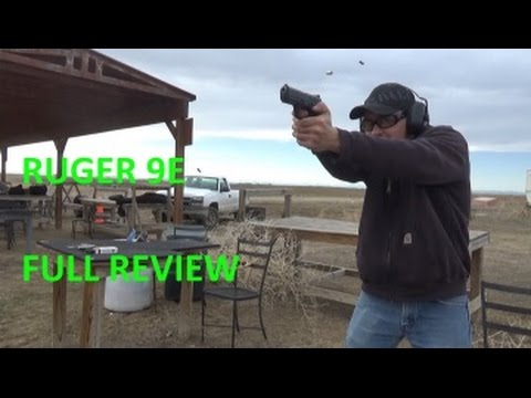 Ruger 9E Pistol Review