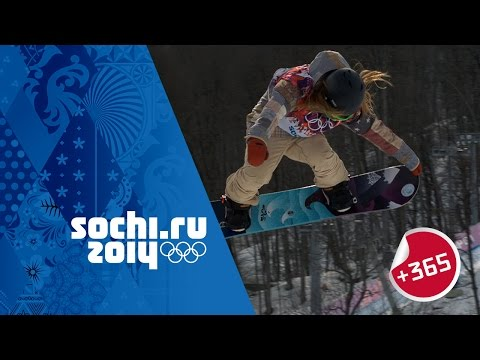 Anderson Wins Snowboard Slopestyle Gold - Ladies Full Event