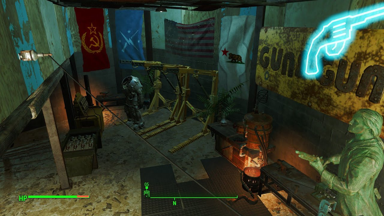 fallout 4 home plate house tour