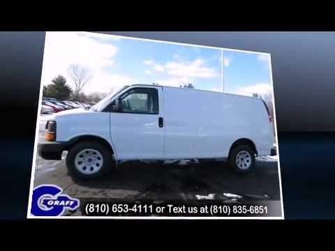 New 2013 Chevrolet Express 1500 - StockID: 6-88596 - Hank Graff Davison, Flint Chevy Dealer