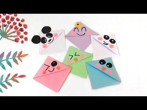 Кавайные Закладки Своими Руками/DIY Kawaii Bookmarks