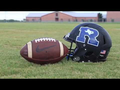 Rice High School senior football video
