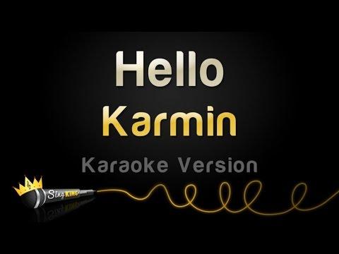 Karmin - Hello (Karaoke Version)