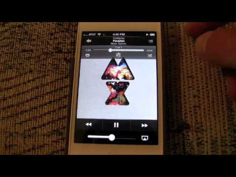 iOS 6 HandsOn: iTunes Match Now Streams Music