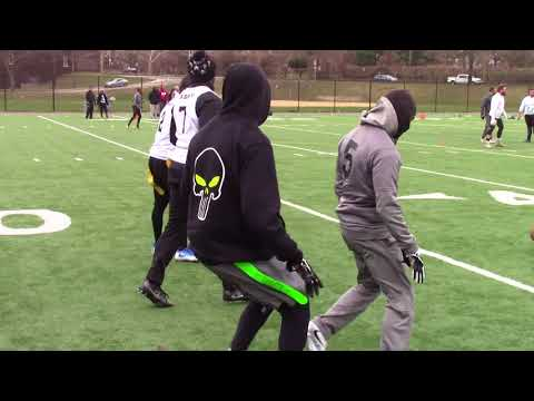 Downstate Flag Football A Division. Neon Mud Pandas 22 Punishers 19