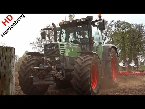 Ploughing With Fendt Favorit 515 C Turboshift | Kverneland | Barneveld | Netherlands.