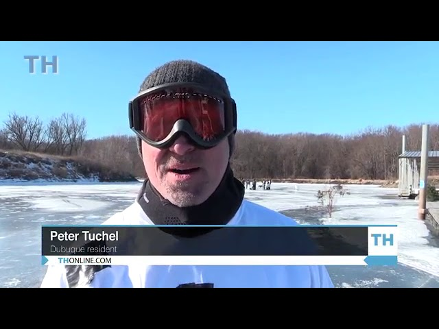 VIDEO: Annual ice golf classic
