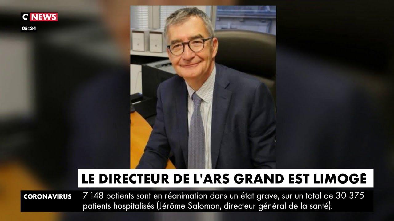 Le directeur de l'ARS Grand Est limogé après ses propos sur le CHU de Nancy