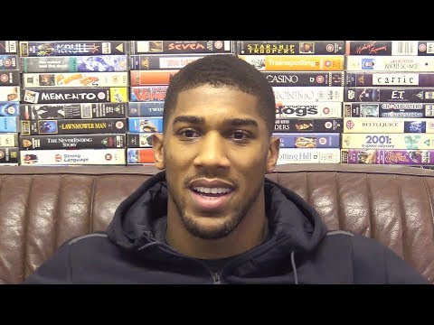 "Anthony Joshua Interview - Tells Deontay Wilder The Pair Will Fight On ""My Terms"""