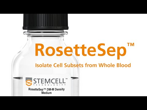RosetteSep™: Cell Isolation Directly From Whole Blood Without Columns or Magnets