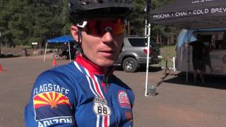 "It was a dry sunny morning when riders from around the state arrived at Fort Tuthill for the Flagstaff Frenzy mountain bike race. Part of the Mountain Bike Association of Arizona's ""5 Flagstaff"" races, the Flagstaff Frenzy was hot, dusty and fast!"