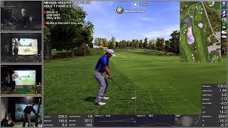 golf simulator - clan week 9 with iskuo - onlinegolftour.net