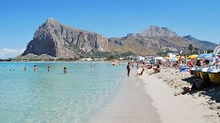 SAN VITO LO CAPO ( Sicily - Italy ) -  SPIAGGIA e MARE DA SOGNO - Beach and sea of dreams -