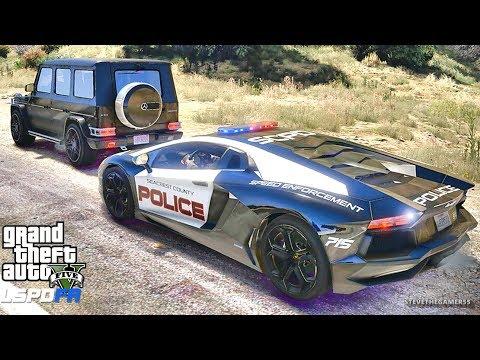 GTA 5 MOD LSPDFR 661 - SUPERCARS !! (GTA 5 REAL LIFE PC MOD)