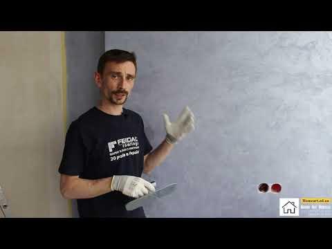 Способ нанесения декоративной штукатурки Lava, мастер класс от Home_Art_Odessa