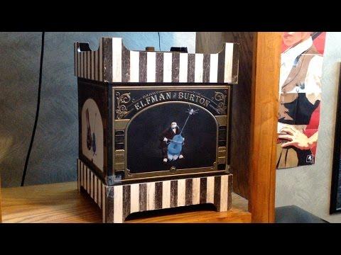 Tim Burton & Danny Elfman 25th Anniversary Music Box: Overview